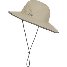Outdoor Research Rambler Sun Sombrero Kinder khaki/dark grey